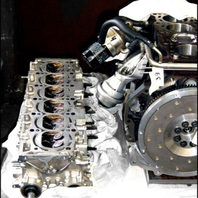 J2JZ-GTE Motorbau