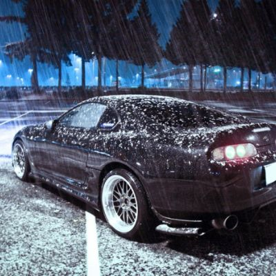 ⁣Winter sleep for the car: This is how you make your supra winter proof...
