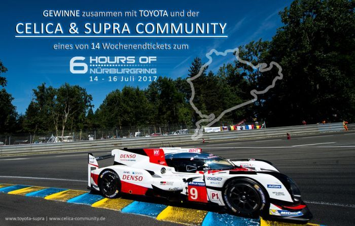 Win tickets for the ⁣⁣6 Hours of Nürburgring