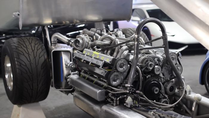 A V12 from two 1JZ engines...