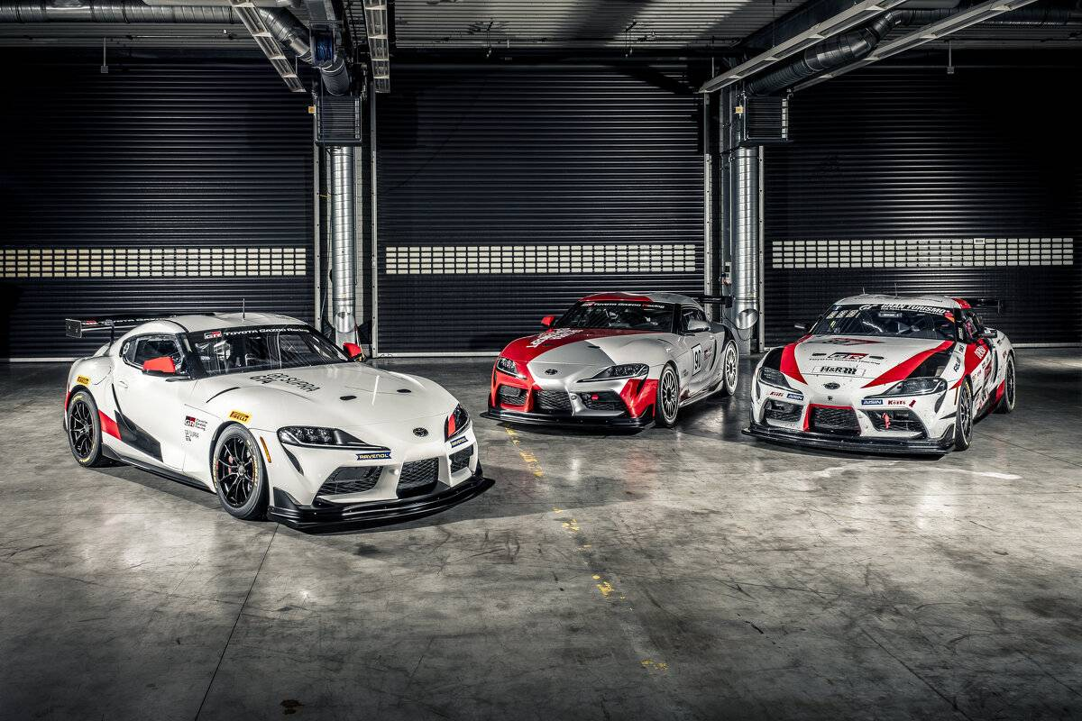 Series production of the Toyota GR Supra GT4 from 2020
