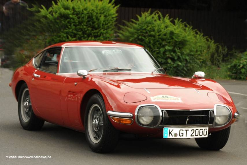 The Toyota 2000GT (MF10) - A contribution by Celi News...