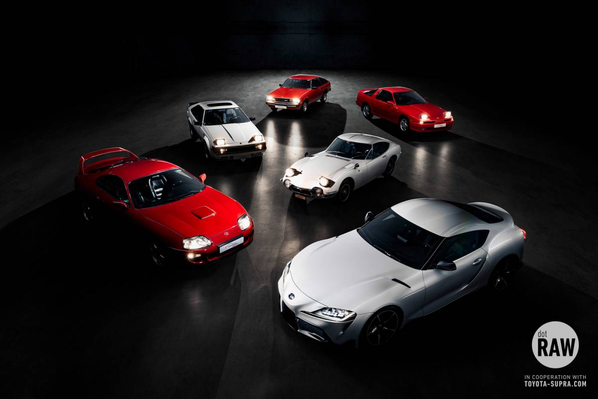 Toyota Supra Community - The meeting of the generations...